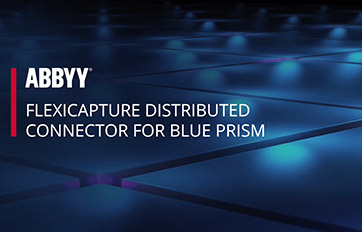 ABBYY FlexiCapture Connector for Blue Prism