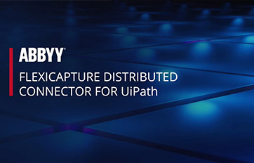 ABBYY FlexiCapture Connector for UiPath