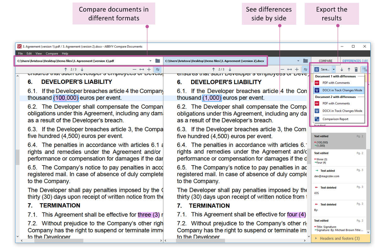 PDF Software Editor & More For Legal Professionals   FineReader