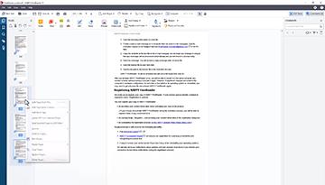 How to split a PDF
