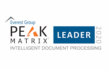 Everest Group a nommé ABBYY parmi les leaders dans son dernier rapport « Intelligent Document Processing Products PEAK Matrix® 2020 »- RAPPORT
