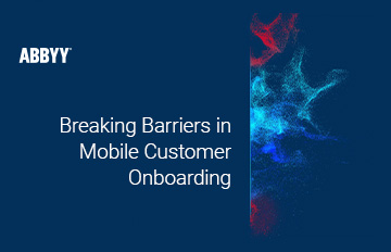 Mobile Customer Onboarding