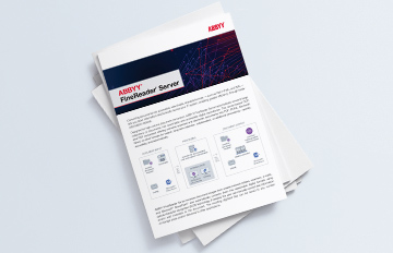 FineReader Server Brochure 2 360X232