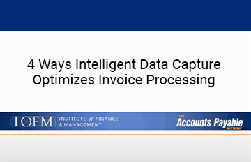 122 4Ways Intelligent Data Capture Optimizes Invoice Processing 360X232